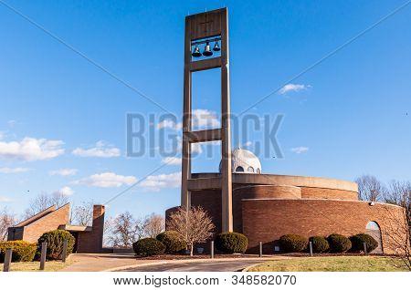 Monroeville, Pennsylvania, Usa 2/2/20 St Nicholas Serbian Eastern Orthodox Church On Haymaker Road,