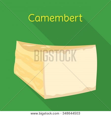 Isolated Object Of Cheese And Maasdam Symbol. Web Element Of Cheese And Piece Stock Symbol For Web.