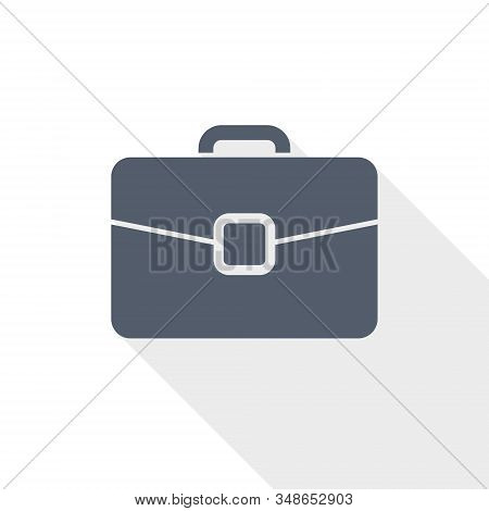 Briefcase Vector Icon, Bag, Case, Business Concept Illustration In Eps 10