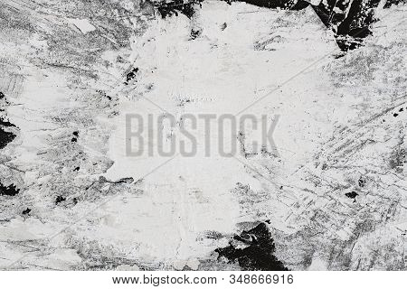 Plaster Wall Reparation Grunge Texture Background Of Compound Material Surface