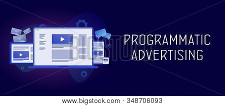 Programmatic Advertising With Cross-device And Multi Target Audience Ads Strategy. Targeting Native