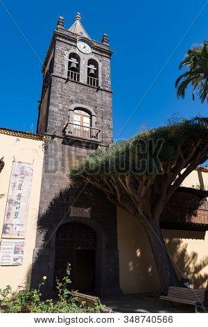 San Cristobal De La Laguna, Spain - January 16, 2020: San Agustin Convent, Historical Museum Inside