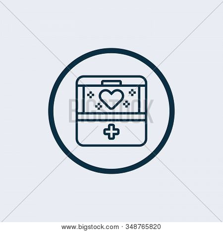 Transplant Box Icon. Outline Transplant Box Vector Icon For Web Design Isolated On White Background