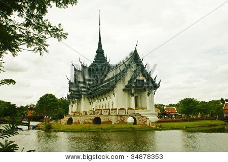 A Beautiful Temple In Thailand