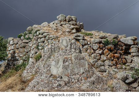 Ruins At Tamuli Archeological Site At Sardinia