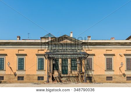Horizontal Picture Of Fashion Museum Located Inside The Boboli Gardens In Florence, Italy
