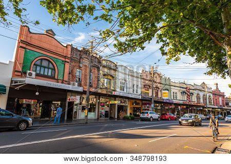 Sydney, Australia - 27 Ott 2018: Princes Hwy Road In Newtown