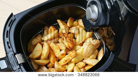 Air fryer homemade grilled potato