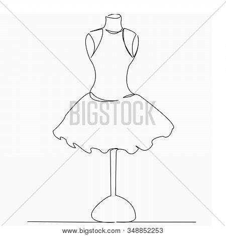One Continuous Single Vector Photo Free Trial Bigstock