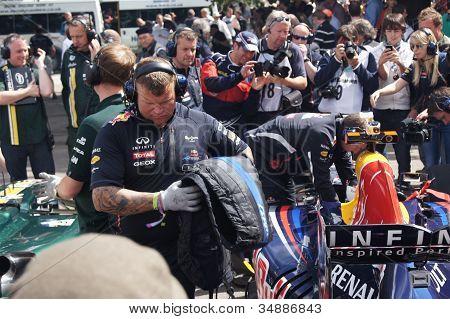 Red Bull F1 Team Mechanics