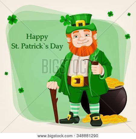 Leprechaun. Happy Saint Patrick's Day