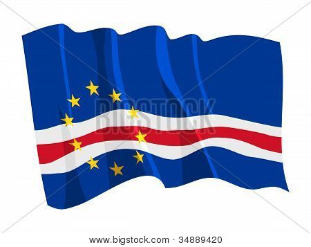 flag of Cape Verde
