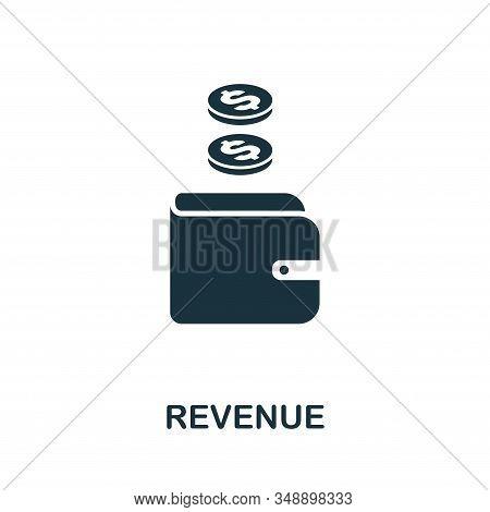 Revenue Icon. Creative Element Design From Stock Market Icons Collection. Pixel Perfect Revenue Icon