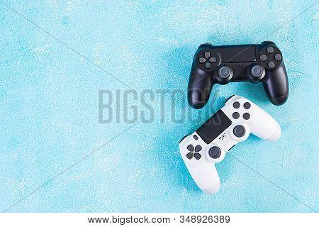 Computer Gaming Joystick. Gaming Concept. Game Controller.