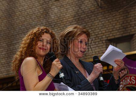 Broadway Barks Co-Founders Bernadette Peters & Rita Moreno