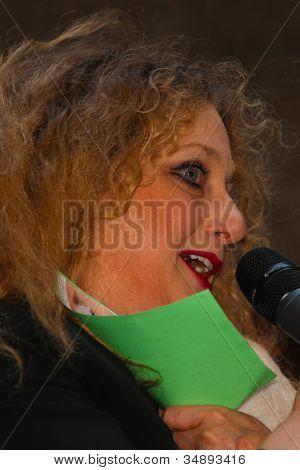Carol Kane (Wicked) with Shy Fellow
