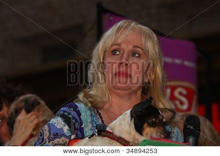 Nancy Opel (Memphis) Presents Pup for Adoption