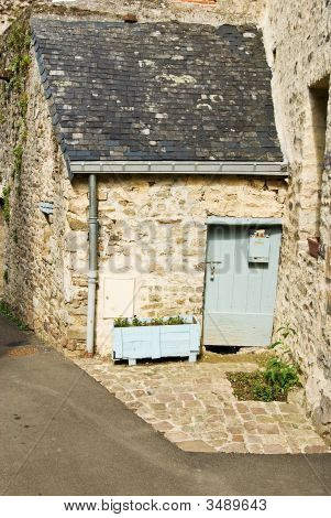 Ancient French Doorway
