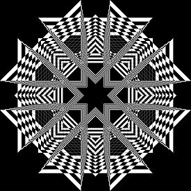 Negative Abstract Arabesque Church Like Ceiling Structure Bblack On Transparent Background Designer