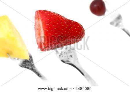 Fruit On A Fork