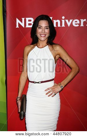 LOS ANGELES - APR 22:  Jaime Murray at the NBCUniversal Summer Pres Day 2013 at the Huntington Langham Hotel on April 22, 2013 in Pasadena, CA