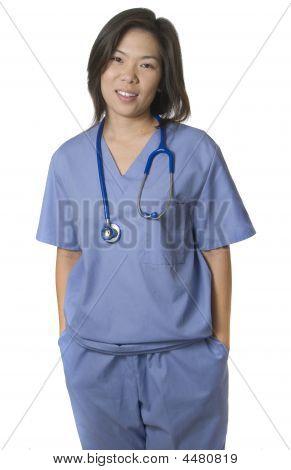 Asian Hospital Staff