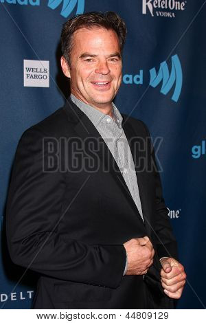 LOS ANGELES - APR 20:  Wally Kurth arrives at the 2013 GLAAD Media Awards at the JW Marriott on April 20, 2013 in Los Angeles, CA