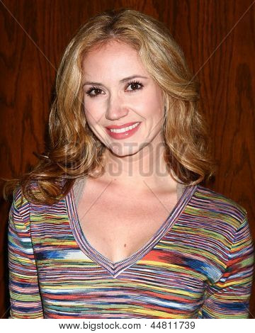 LOS ANGELES - APR 15:  Ashley Jones at the Jack Wagner Celebrity Golf Tournament benefitting the Leukemia & Lymphoma Society at the Lakeside Golf Club on April 15, 2013 in Toluca Lake, CA