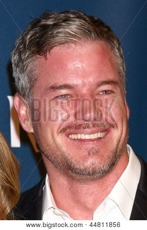 eLOS ANGELES - APR 20:  Rebecca Gayheart, Eric Dane arrives at the 2013 GLAAD Media Awards at the JW Marriott on April 20, 2013 in Los Angeles, CA