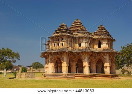 Lotus Mahal In Hampi, India
