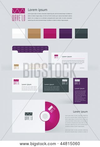 Stationery, Branding Mock-Up template
