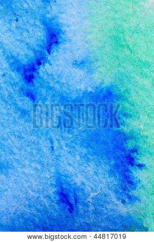 Macro acuarela azul
