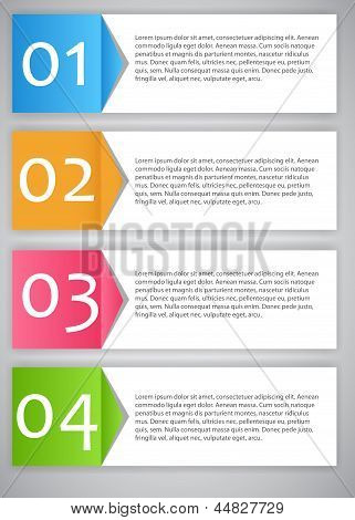 Infographic template vector illustration. This is file of EPS10 format. poster