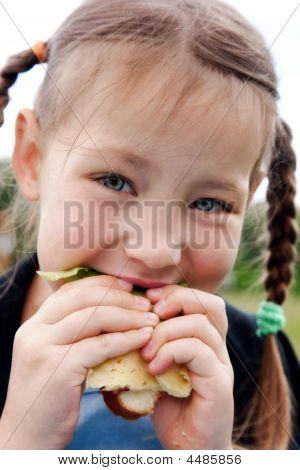 Healthy Food On Fresh Air