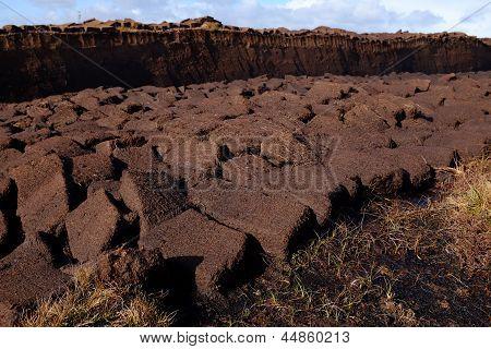 Cut Peat Fuel