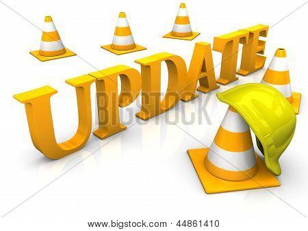 Cosntruction-Update-Site