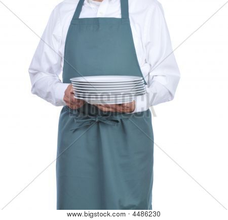 Busboy With Plates