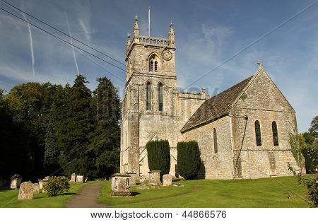 Parish Church of St. John the Baptist, Coln St. Aldwyns