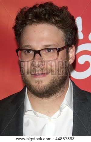 LOS ANGELES - APR 25:  Seth Rogen arrives at the Second Annual Hilarity For Charity benefiting The Alzheimer's Association  at the Avalon  on April 25, 2013 in Los Angeles, CA