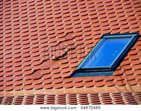 Error In The Positioning Of Tiles On The Roof