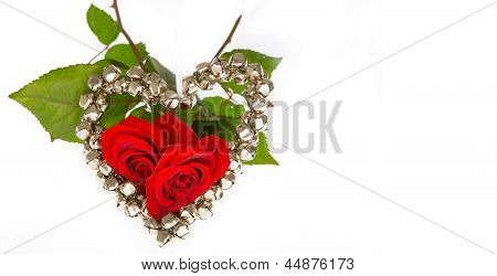 Two Roses For Valentine