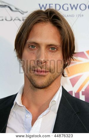 LOS ANGELES - APR 23:  Neil Newbon arrives at the 7th Annual BritWeek Festival