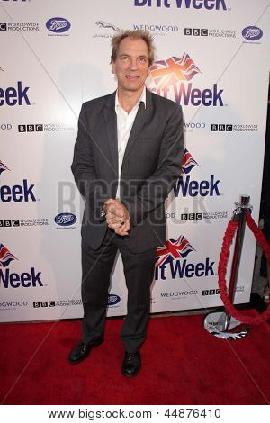LOS ANGELES - APR 23:  Julian Sands arrives at the 7th Annual BritWeek Festival