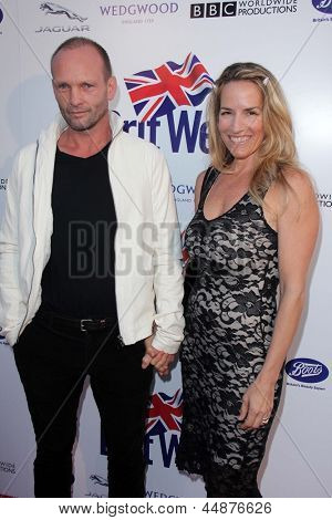 LOS ANGELES - APR 23:  Andrew Howard arrives at the 7th Annual BritWeek Festival