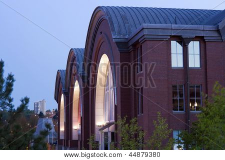 Building Architecture Of The Washington State Historical Society