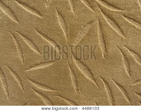 Carpet Texture Floral Pattern