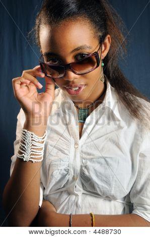 African Teen Fashion Girl