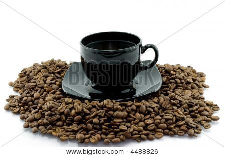 Cup And Coffee Beens