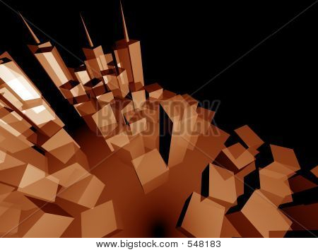 3d City Perspective Layout