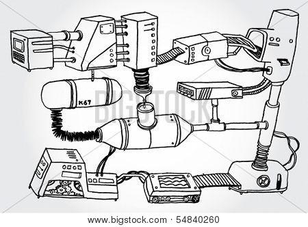 Hand Drawn Mechanism